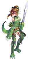 Lizardman 0 by Gensokyo-man