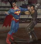 Kano grabs Superman