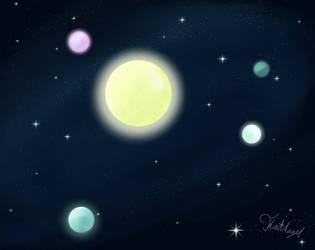 The other solarsystem by XxGirlyAngelxX