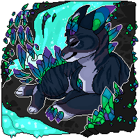 Crystal cave-Kairos pixel [Contest entry] by MoonstarDraws