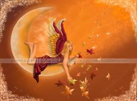 Autumn Moon by Rachzee