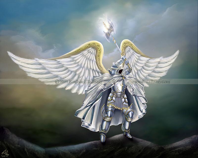 Archangel Michael By Rachzee On Deviantart