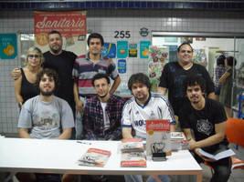 Sanitario Vol. 1 - book signing by thiagocaleal