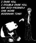 Pulp Panda by thiagocaleal