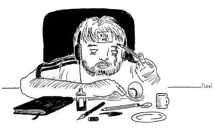 Self-portrait by thiagocaleal