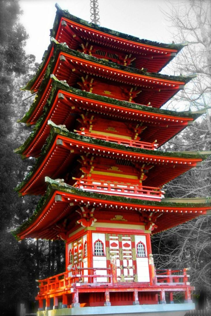 Old Japanese Structure By Rafaelmcsilveira On Deviantart