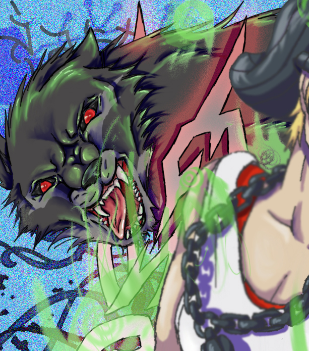 Grudge Wolf by NekohimeKagepuma