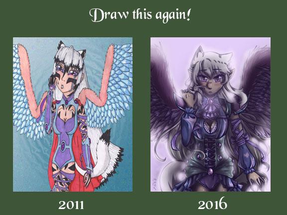 Draw Again Kurohime by NekohimeKagepuma