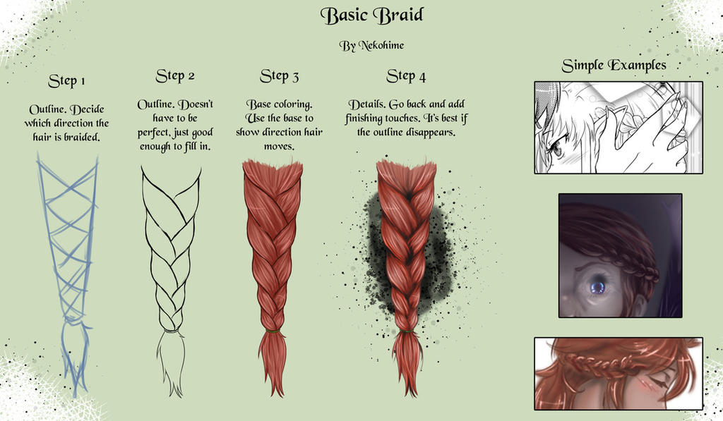 how to make a fish braid step by step