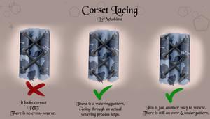 Corset Lacing Yes/No