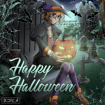 Happy Halloween~ by NekohimeKagepuma