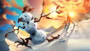 A Snowman's Escape