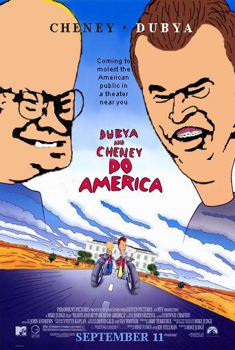 Dubya and Cheney Do America by halon0ne