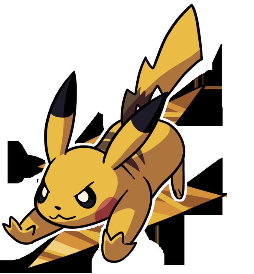 Pikachu by Smearg