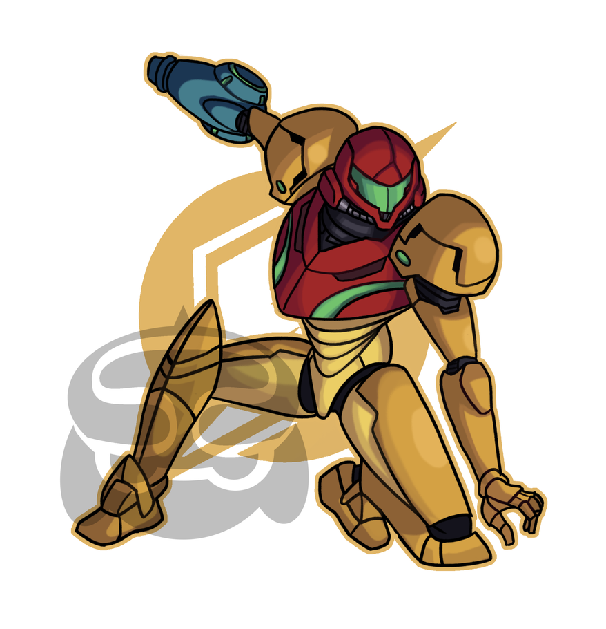 SMASH- Samus by Smearg