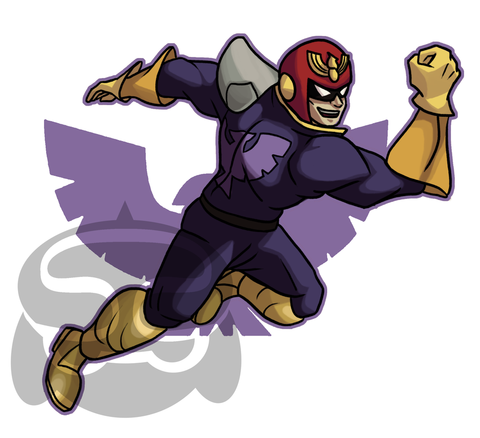 SMASH- Captain Falcon by Smearg
