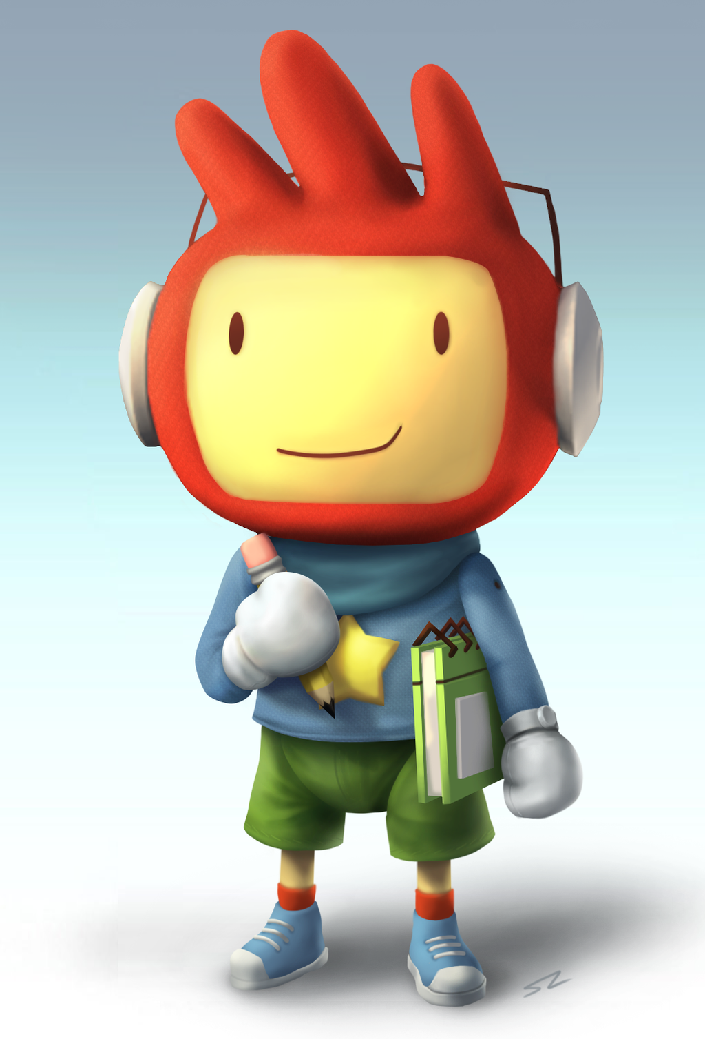 Maxwell Scribblenauts Drawing : Maxwell smashified by smearg on deviantart