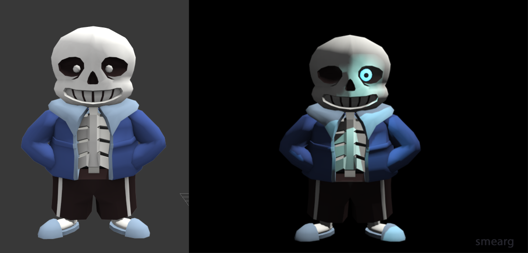 Sans Model by Smearg