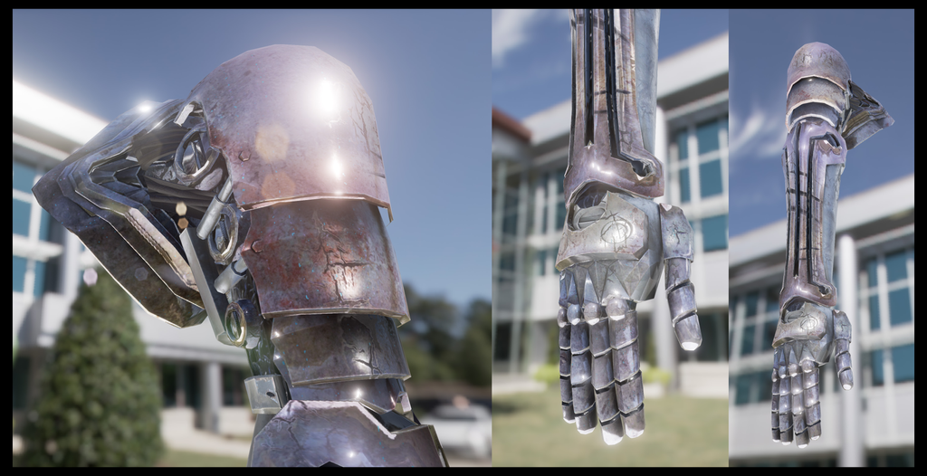 FMA Automail Arm Model by Smearg