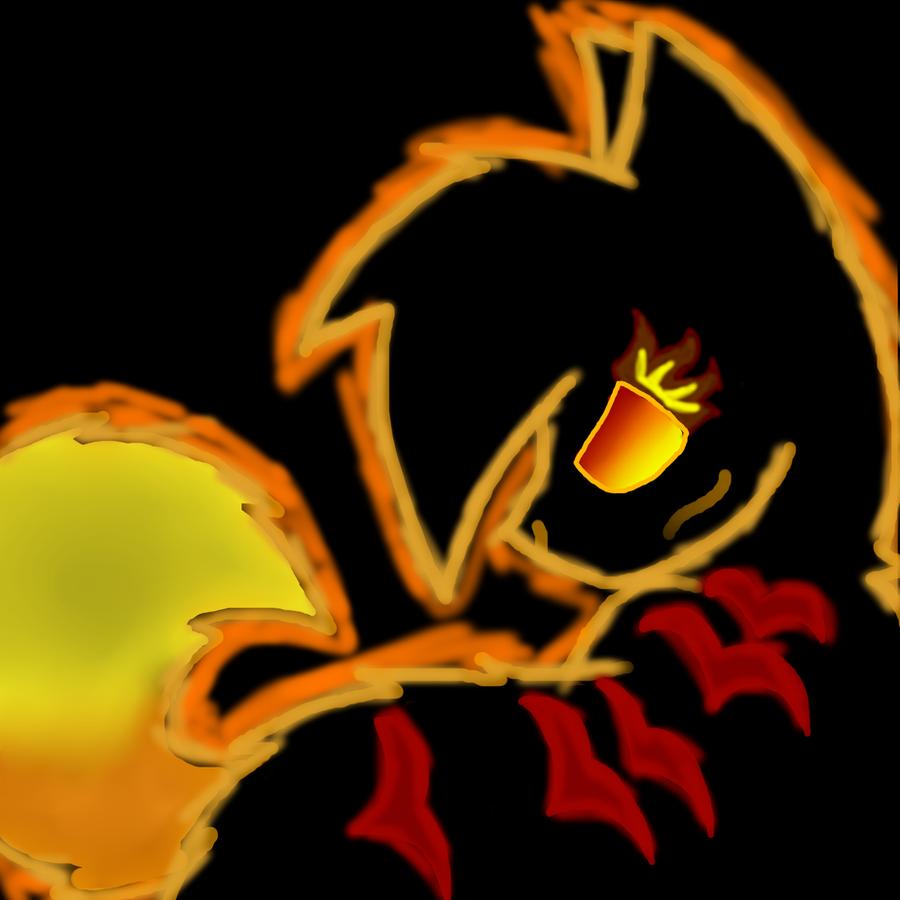 Fire cat. by JazzyJasmine15