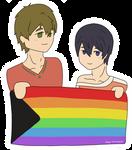 MakoHaru Pride - 280618 by Tachibana-Mizuko