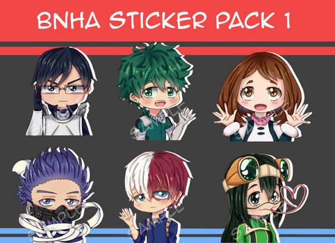 BnHA Sticker Pack 1