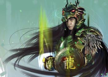 Shiryu / Dragon saint seiya