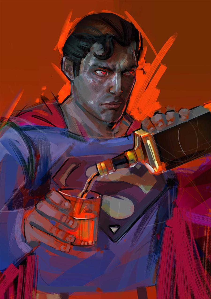 wip / Drunk Superman