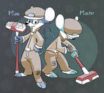 Mizo and Mazu - The Mouse Sweepers