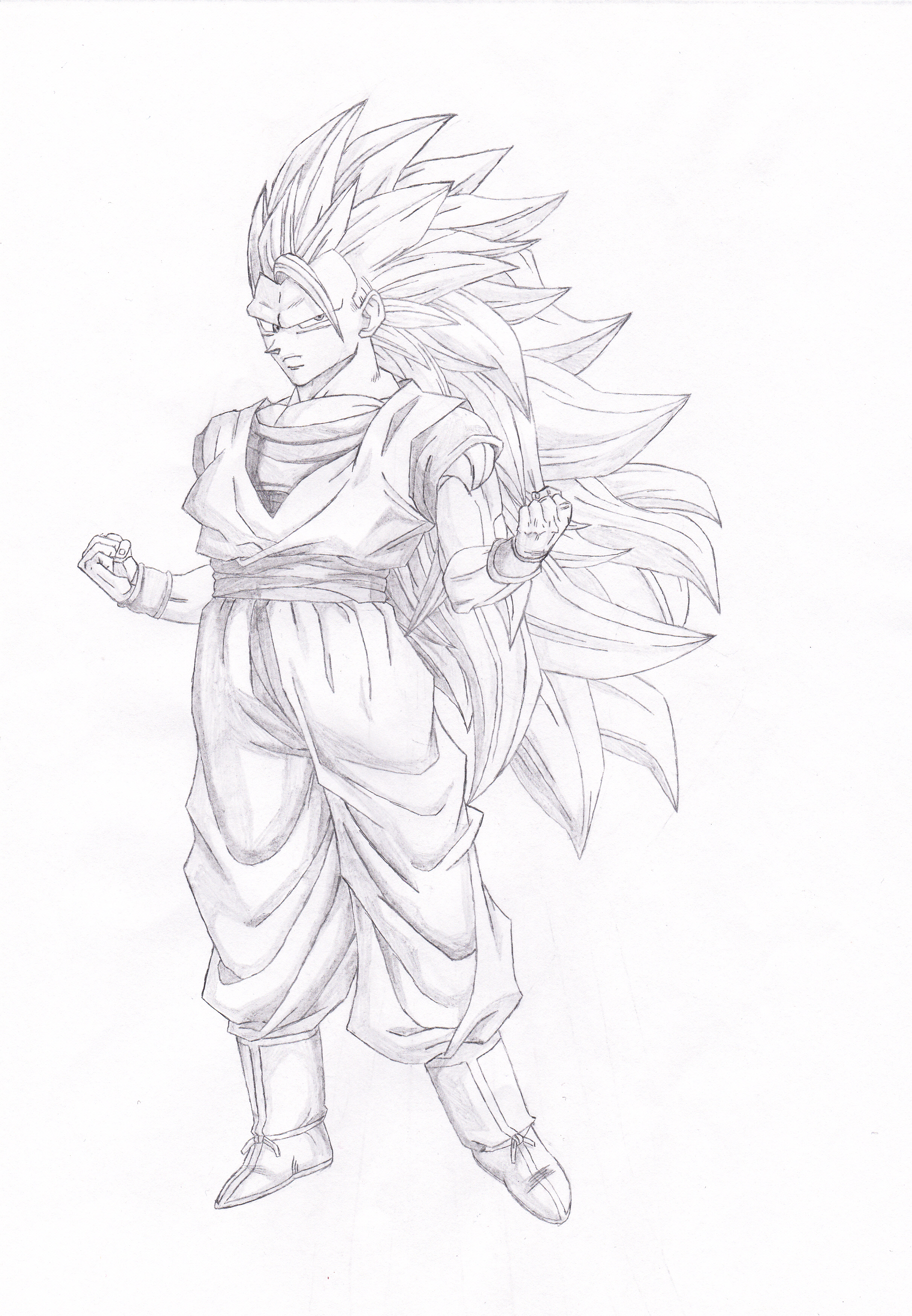 Dragon ball z sangoku super sayan 3 by kronos76 on - Sangoku super sayen 2 ...