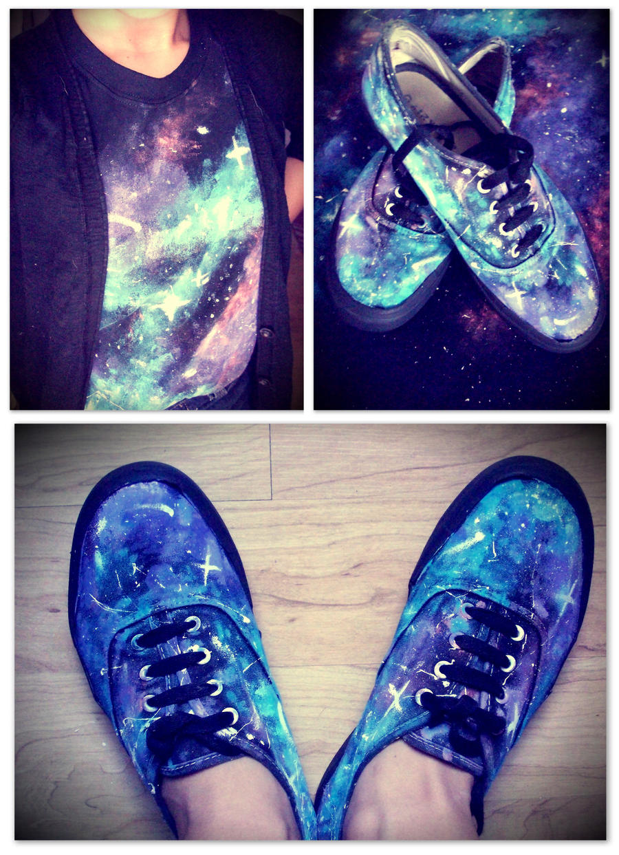 Design t shirt galaxy -  Galaxy Clothes By Misa Rena