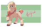Applejack - G5 redesign by Scalent