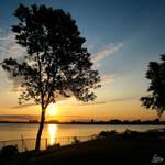 Morning sunrise III by Gibbich