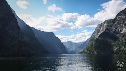 Sognefjord by Gibbich