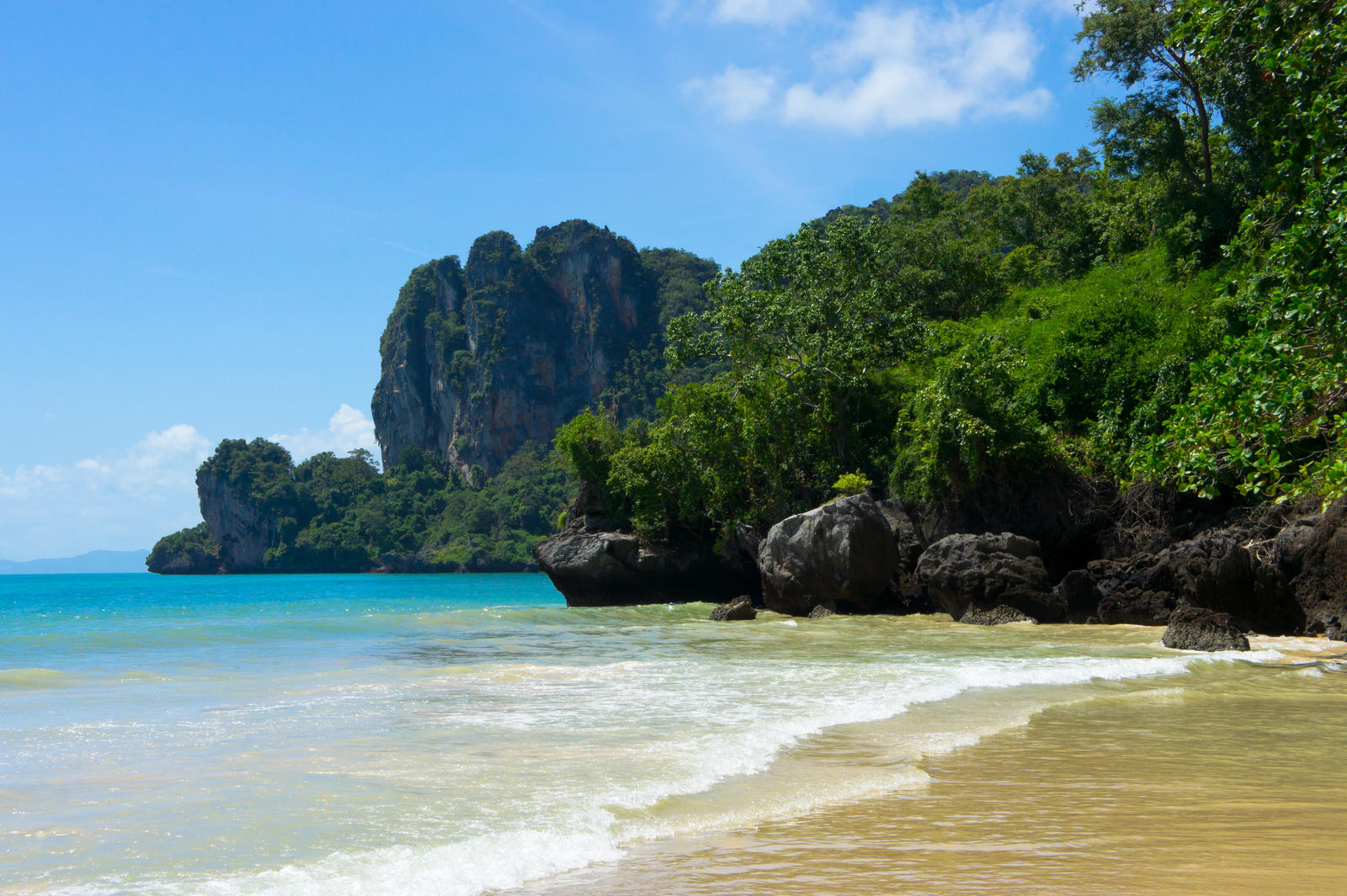Railay Beach I by justThorvald on DeviantArt