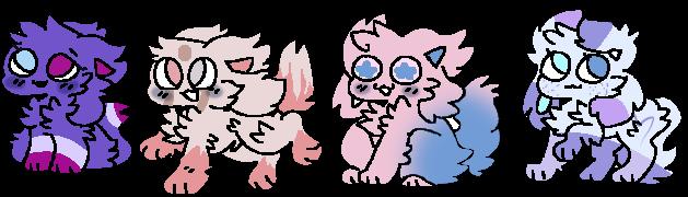 Kittydog Oc Adopts by lilyarour