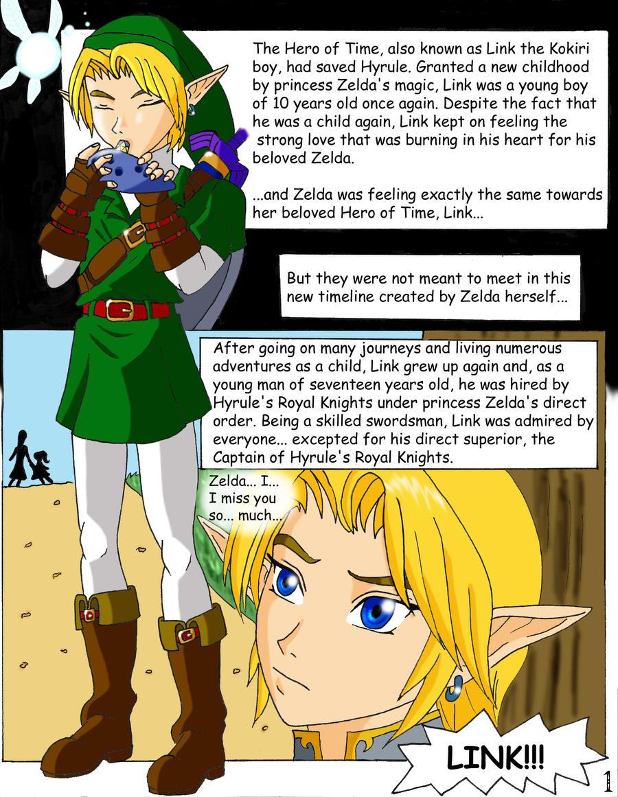 The Legend of Zelda : Lurking Shadows p.1 ENG. by Mynhphrah