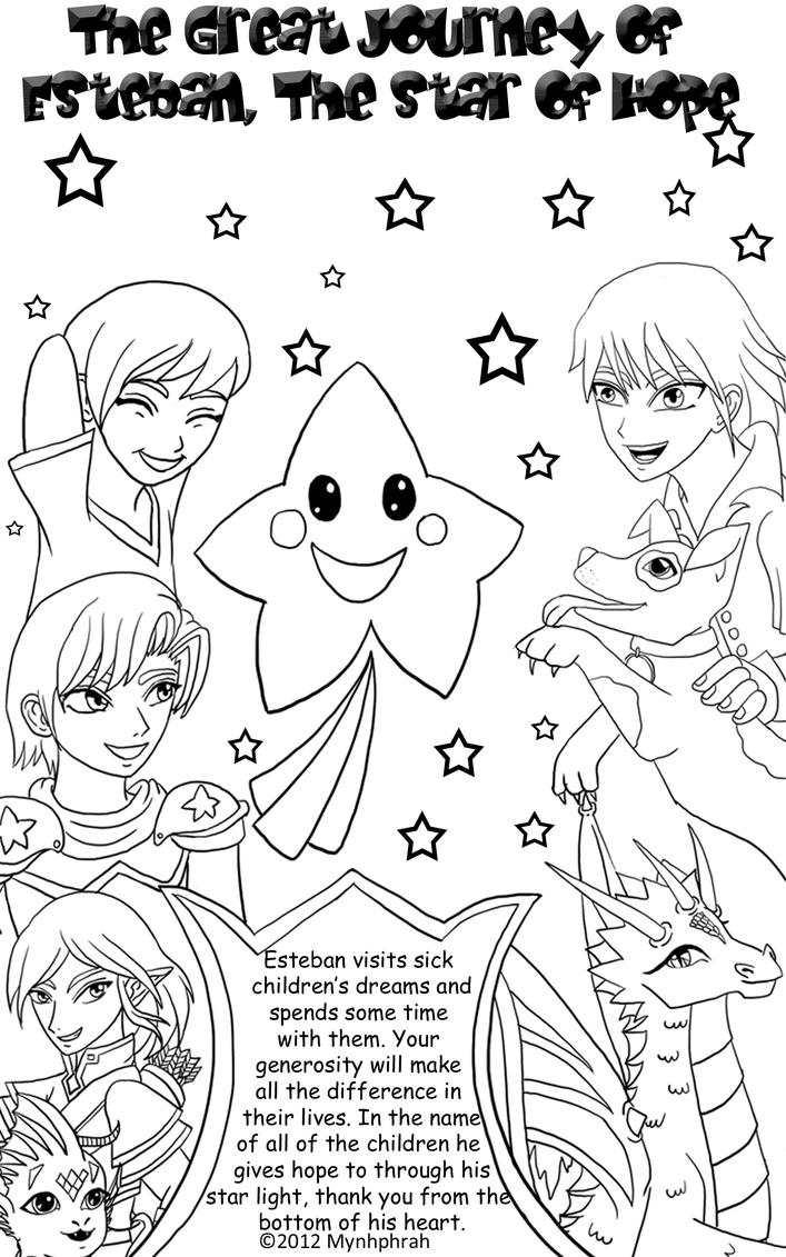 Chance Book Cover Coloring Pages