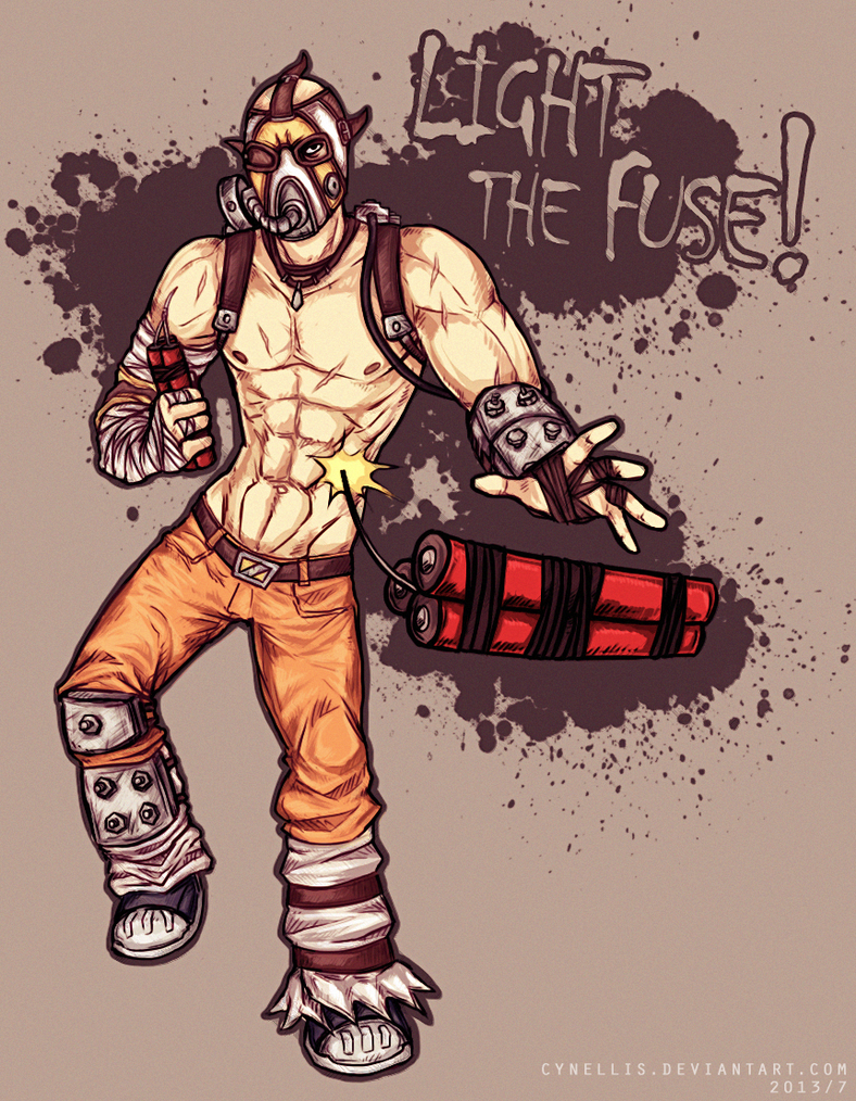 LIGHT THE FUSE! - Krieg the Psycho by cynellis on DeviantArt