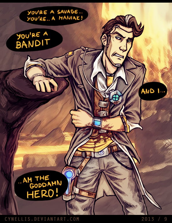 Handsome Jack The End By Cynellis On Deviantart