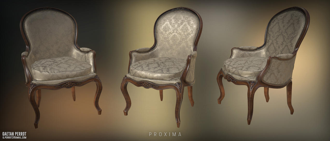 Proxima - Chair Realtime 01 by Korann