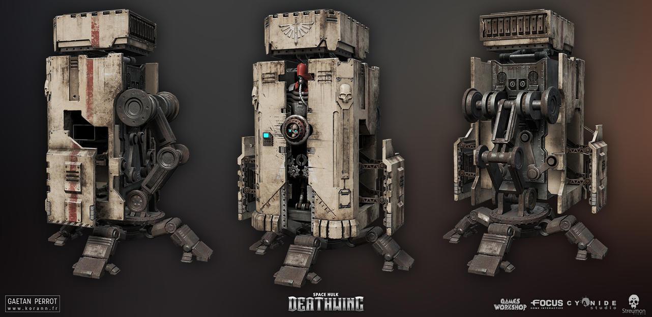 Space Hulk Deathwing - Armory 01 by Korann