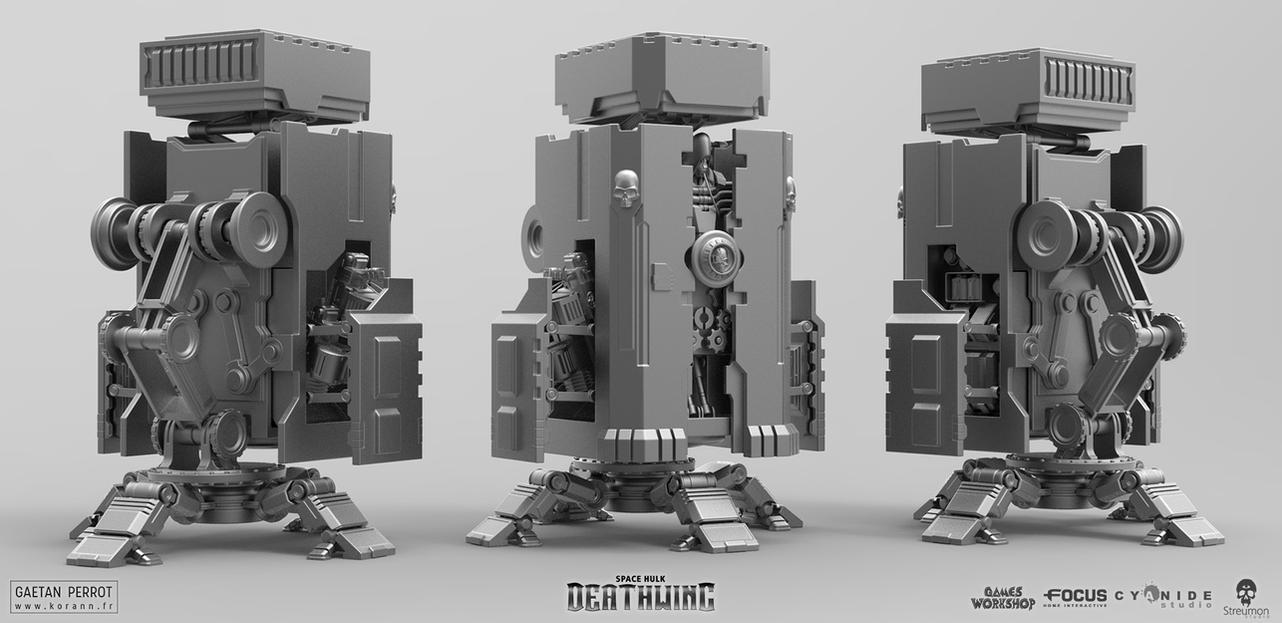 Space Hulk Deathwing - Armory 02 by Korann