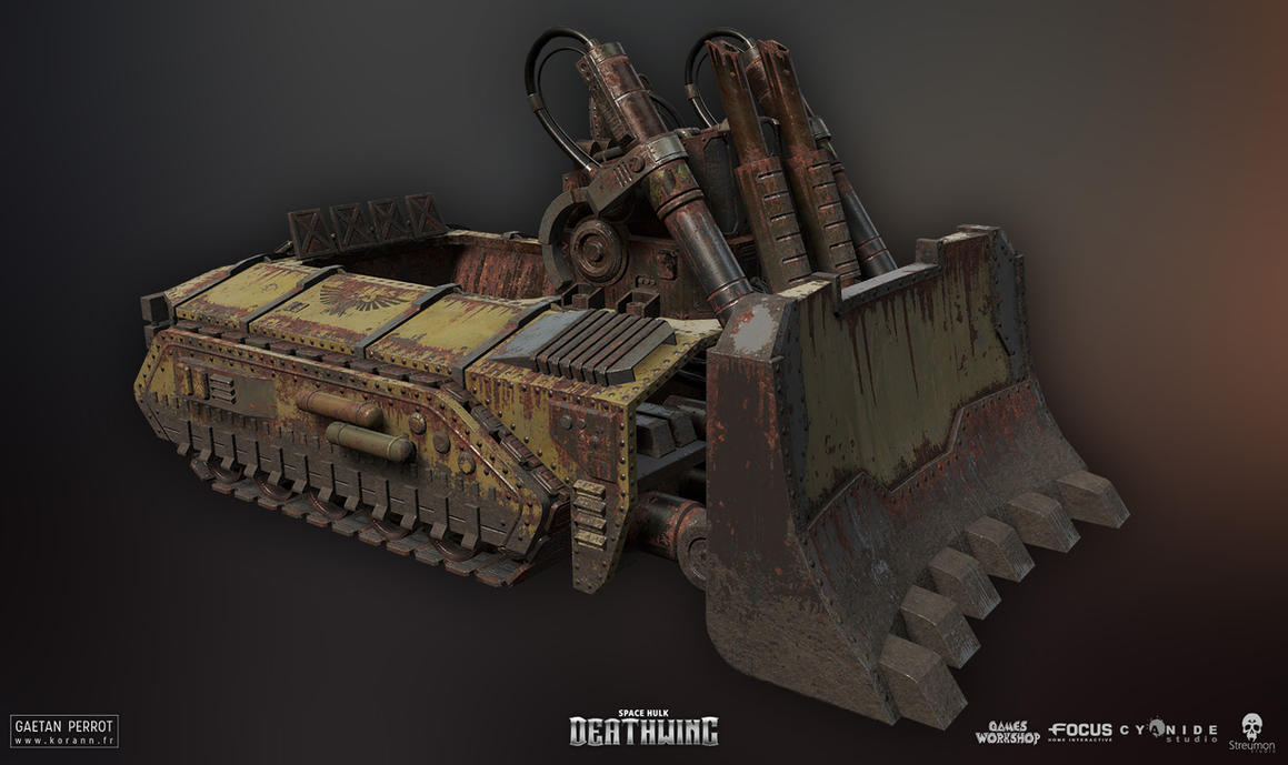 Space Hulk Deathwing - Caterpillar 01 by Korann