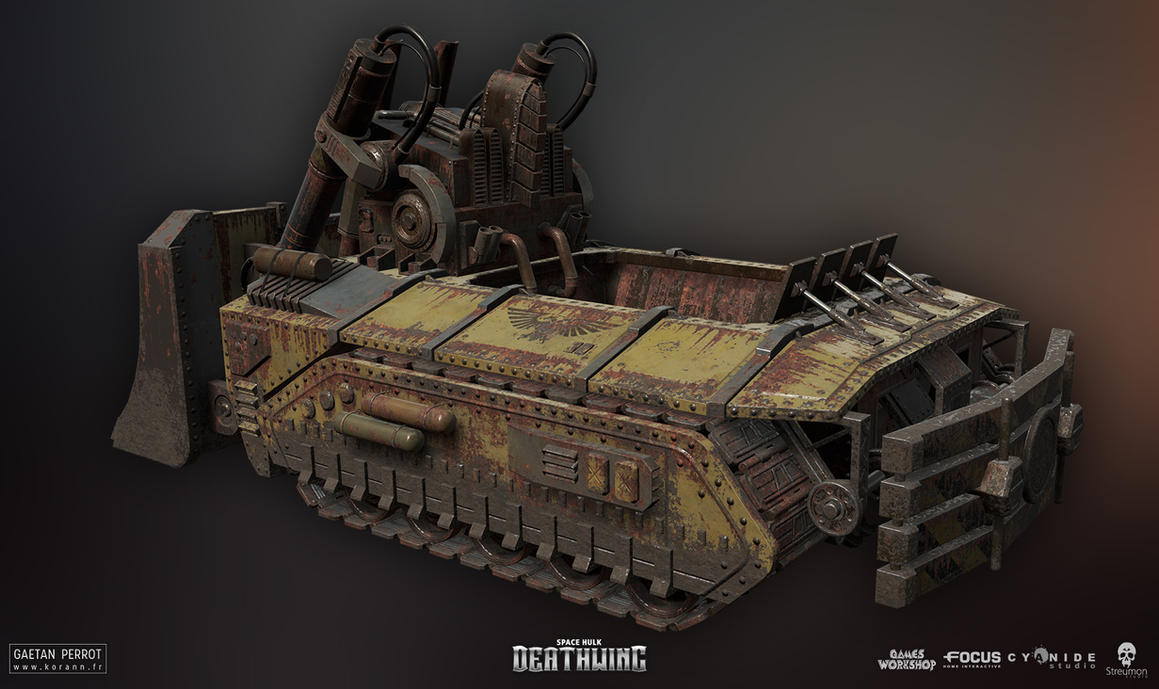 Space Hulk Deathwing - Caterpillar 02 by Korann