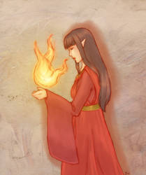 Fire Mage by artisteri