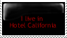 Hotel california Stamp by Pyroguy44