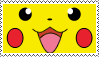 Pikachu Stamp by Zinnia-Aster