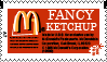 Fancy Ketchup Stamp by Zinnia-Aster