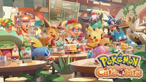 Pokemon Cafe Mix Wallpaper + Review!